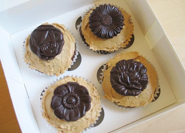 Vegan espresso cupcakes