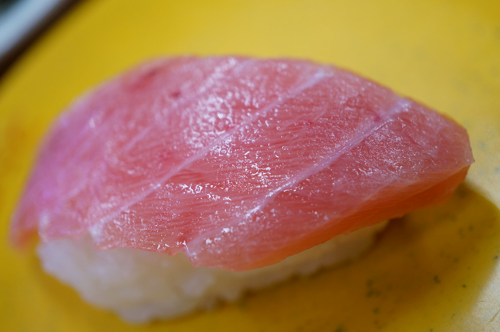 very fatty tuna