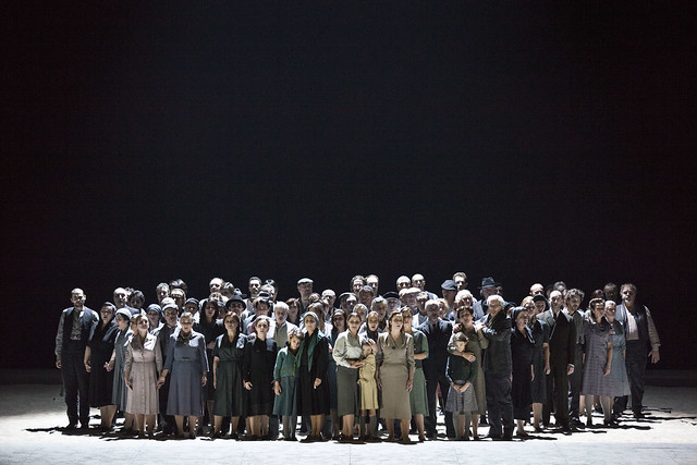 Daniele Abbado's production of Nabucco © Rudy Amisano/Teatro alla Scala