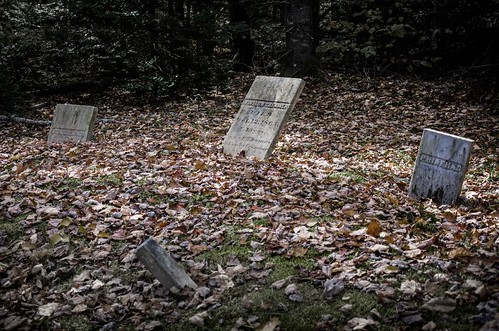 travel autumn abandoned cemetery leaves maine newengland headstones graves cooper marble creamer hdr 32bit familyplot northernmaine meddybemps robhansonphotographycom robhansonphotography