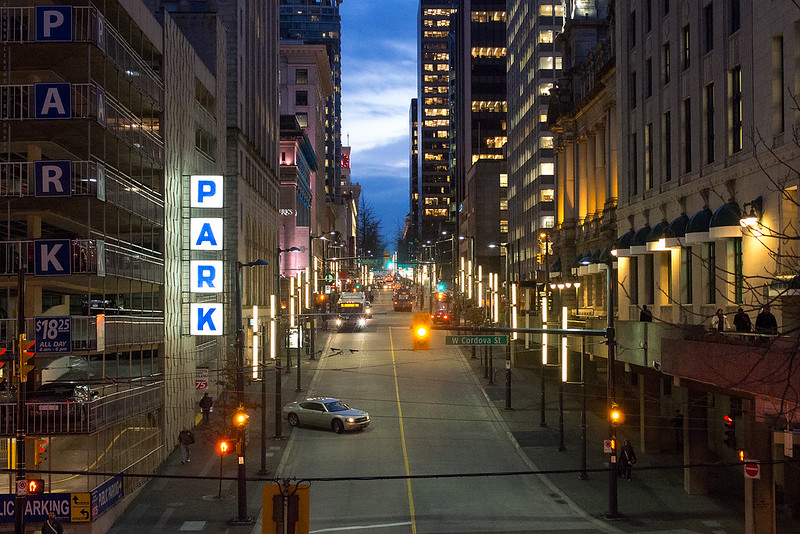 Park | Granville Street Vancouver BC
