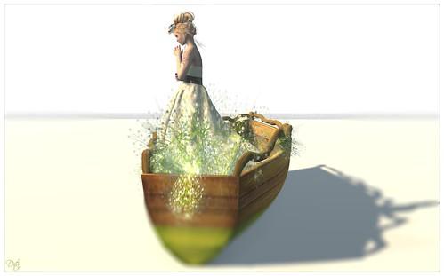Nostalgia III - Primavera White Lily
