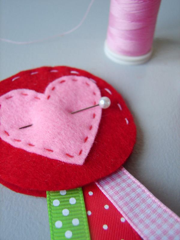 Valentijn broche