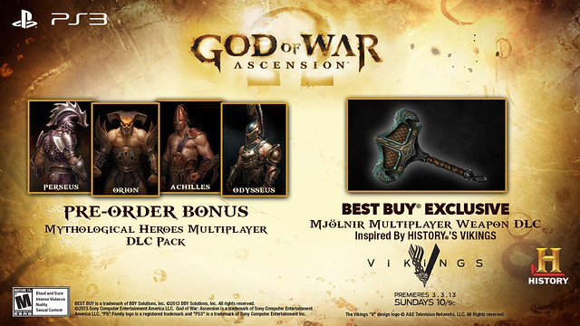God of War: Ascension - Mjölnir DLC