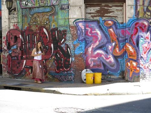 Graffiti san telmo