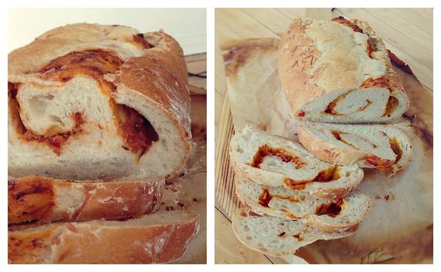 Pesto swirl bread recipe