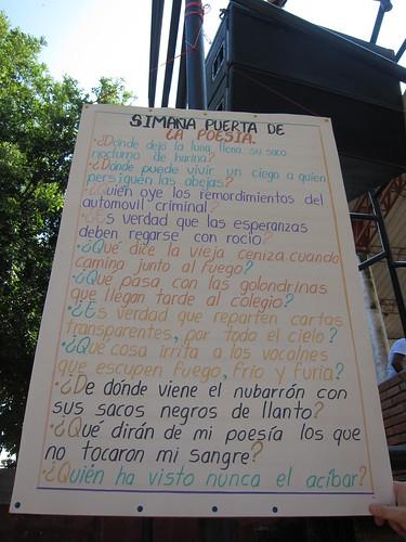 Fiesta de la Palabra 2. Pelaya, Cesar. Archivo Liebre Lunar