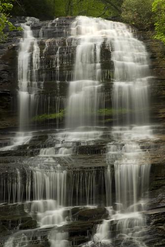 mountains waterfall northcarolina places waterfalls saluda tryon polkcounty ecosystems panoramio blueridgeescarpment