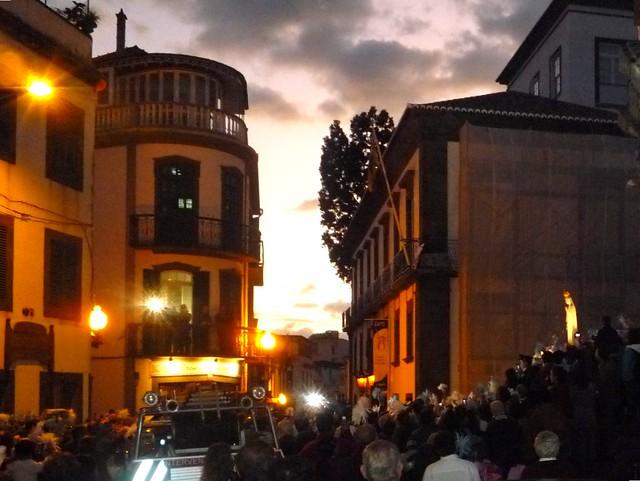 Madonna de Fatima auf Madeira ohne Hochzeit