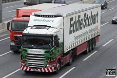 Scania G400 4x2 Tractor - PN60 FXZ - Sylverine - Eddie Stobart - M1 J10 Luton - Steven Gray - IMG_2355