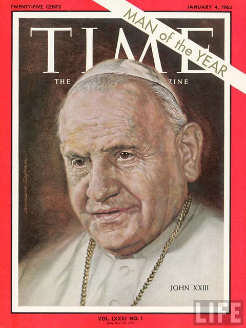 TIME cover Jan 04-1963 ill. of Pope John XXIII