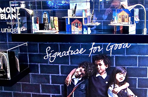 unicef 'signature for good'