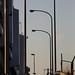 歩道の街灯