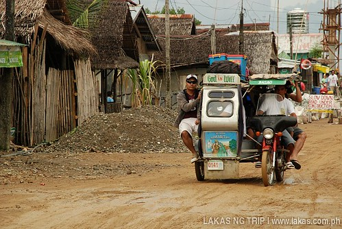 Tricycle at Ambulong Port, Magdiwang, Sibuyan Island, Romblon