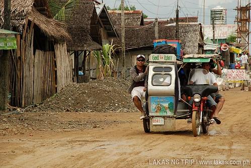 Tricycle at Ambulong Port, Magdiwang, Sibuyan Island, Romblon