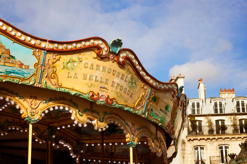 Carrousel La Belle epoque