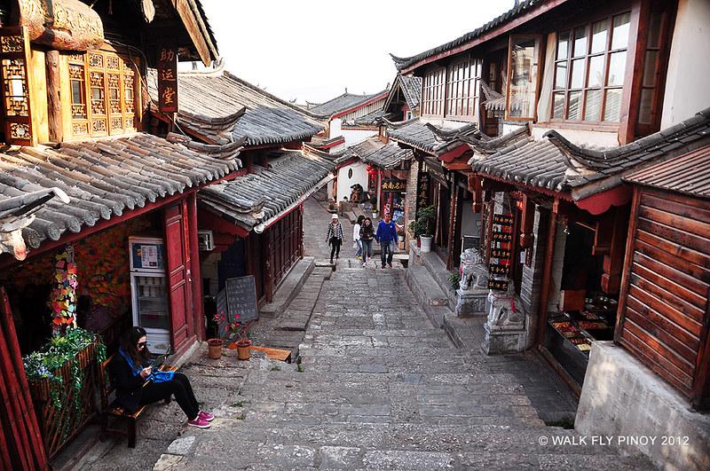 Lijiang Old Town in Yunnan, China