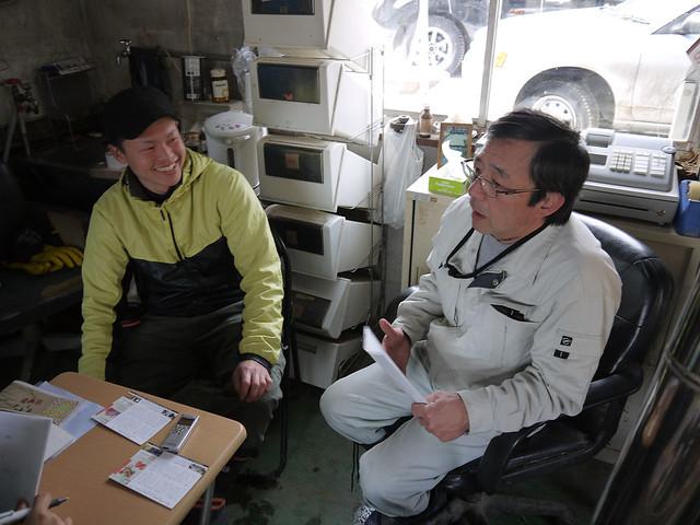 八千穂漁業の二人の会話_拡大
