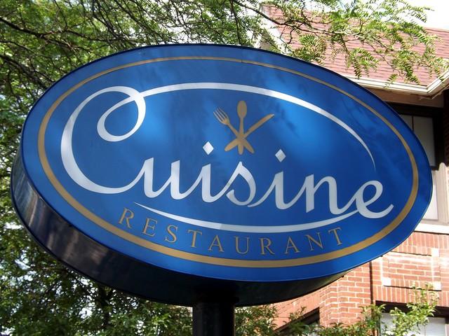 Sign cuisine restaurant lothrop street detroit mi for Cuisine 670 lothrop detroit