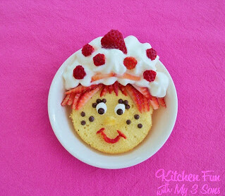 Adorable Strawberry Shortcakes from Kitchen Fun With My 3 Sons