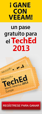 Sorteo Veeam TechEd 2013