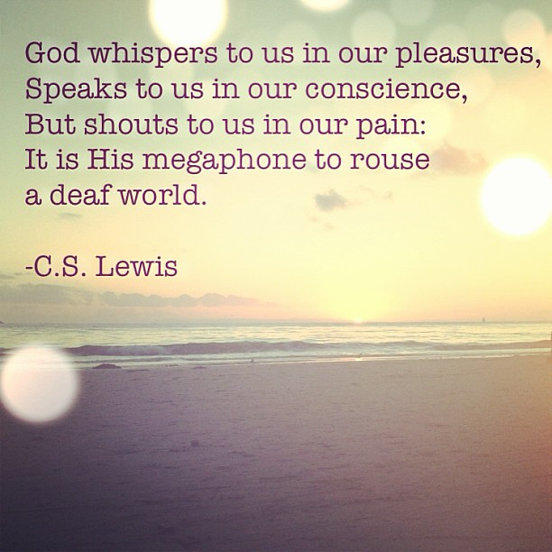 Current favorite quote. #crystalcove #cslewis #morningdevotionalwithmyself