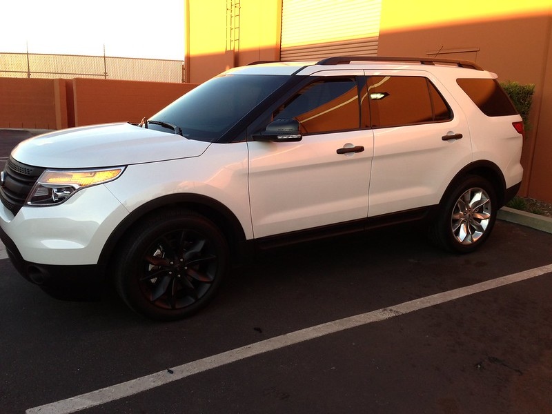 Plasti Dip Wheels Puddle Led Install Ford Explorer And