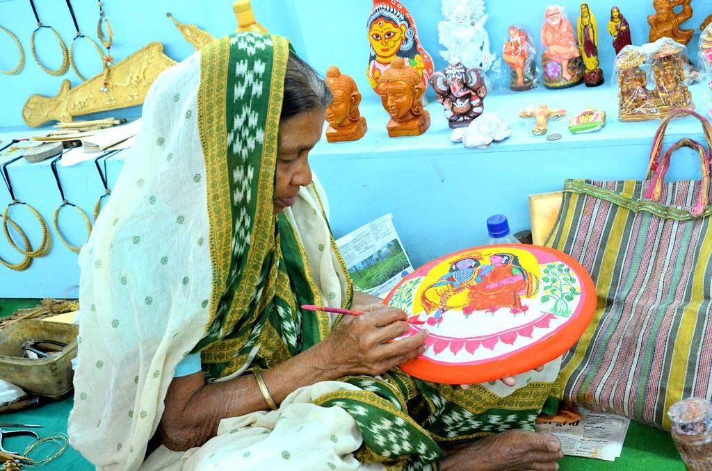 Sarayubala Pal..... A Folk Artist from Bengal