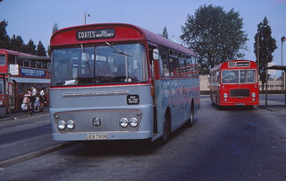 Memories of Bishop's Road bus station, Peterborough (c) David Bell