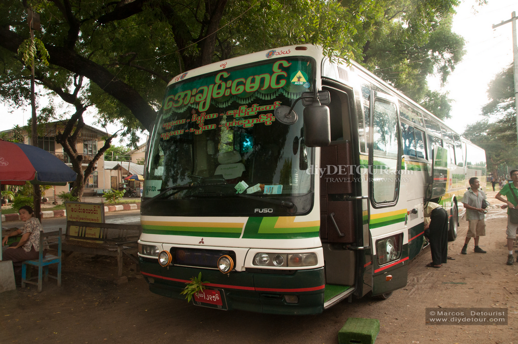 Bagan to Mandalay Night Bus and Hostel Search