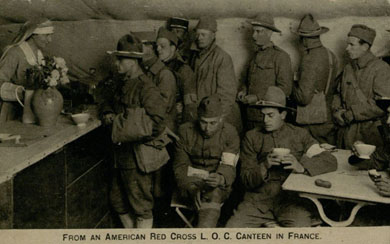 World War I postcard: American Red Cross