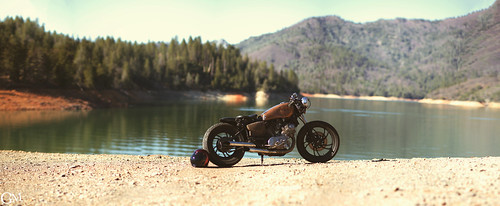 my XV bobber by Garrett Meyers