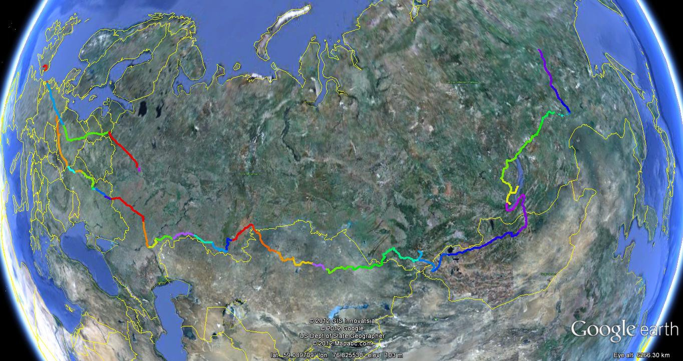 Sibirsky Extreme Trail Russia Sibirsky Extreme