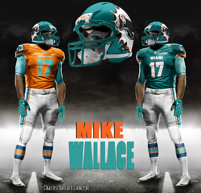 Mike Wallace Miami Dolphins