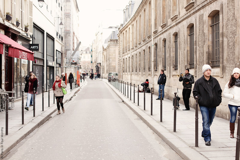 Strolling around the Marais by Carin Olsson (Paris in Four Months)