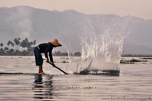 Fisherman at Inle lake_Burma