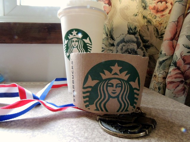 Starbucks Quest for Gold