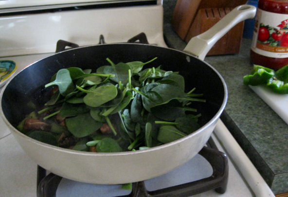 Sautee Spinach