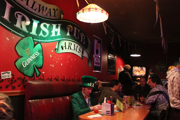 St. Patrick's Day - Irish pub