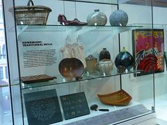 Handmade: Traditional Skills display