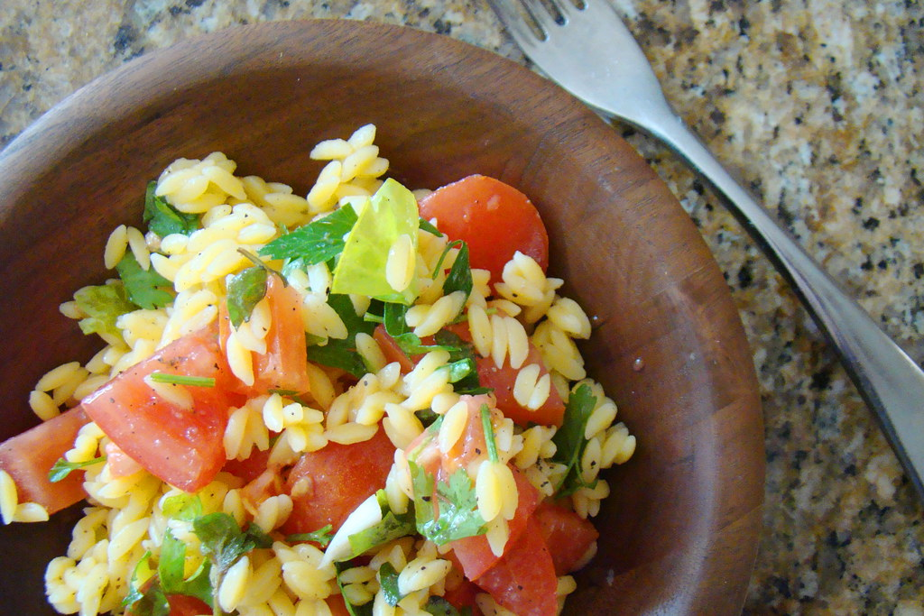 Gluten Free Orzo Tabuli Salad