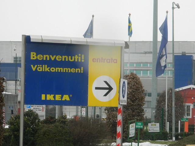 Ingresso dell'Ikea di Piacenza
