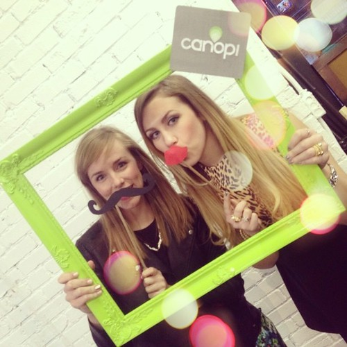 Cocktails & Mustaches with @rightshoesblog #stlfw @alivemagstl