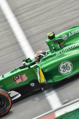 Giedo Van Der Garde - Caterham F1 - 2013 FORMULA 1 PETRONAS MALAYSIA GRAND PRIX