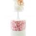 Thalia & Jamie's Rosette Ruffle Cake by Bella Cupcakes (Vanessa Iti)