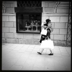 Carry me. #streetbw
