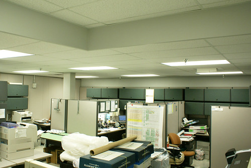 Lighting Retrofit Project - Beginning First Phase