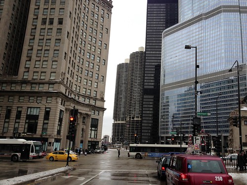 downtown Chicago #1 (Michigan Avenue)
