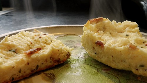 Bacon Cheese Rosemary Scones 21