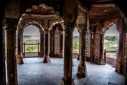 Shah Jahan's place of House Arrest at Agra Fort